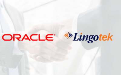 Oracle Content & Experience Partners with Lingotek