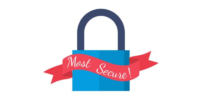 lock depicting security