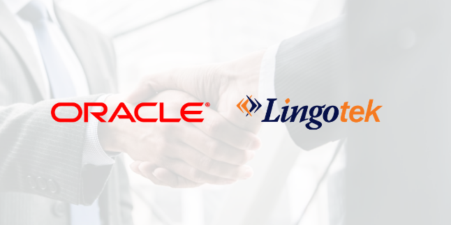 oracle and lingotek partnership