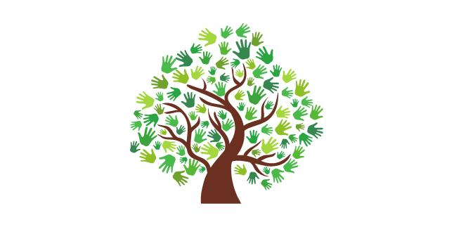 illustration depicting community