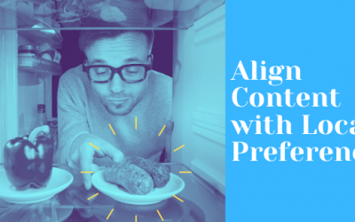 Aligning Content with Local Preference