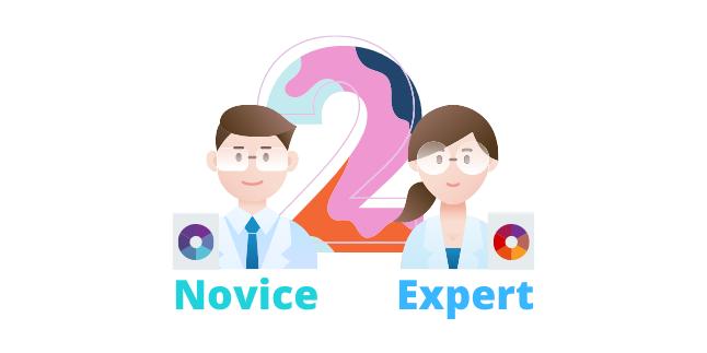 Illustration depicting the range of expertise