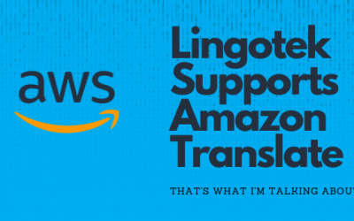Announcing Support for Amazon Translate