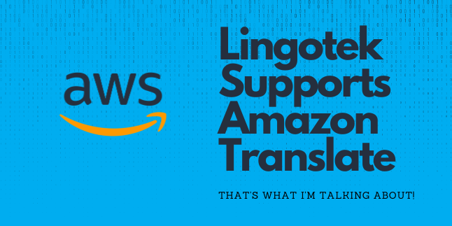 support for amazon translate